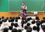 小中学校での道徳の授業